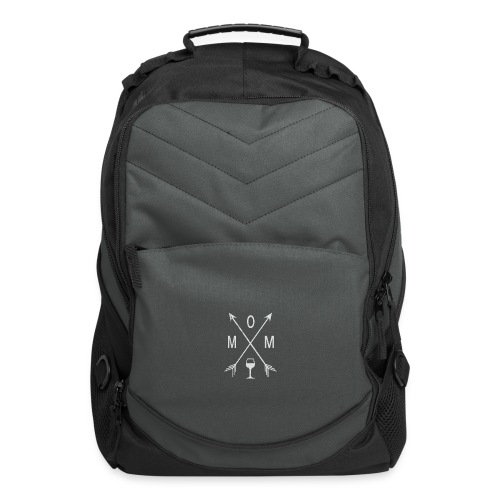 Mom Wine Time - Computer Backpack