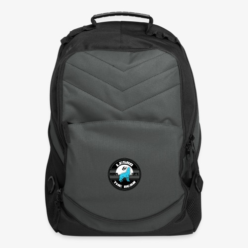 Lesbo and The Bean Logo - Computer Backpack