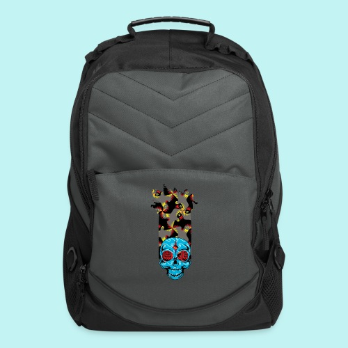 90s KID SKULLY - Computer Backpack