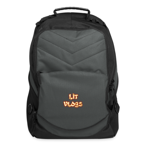 Lit Vlogs Glowing - Computer Backpack