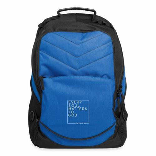 ESMTG White - Computer Backpack