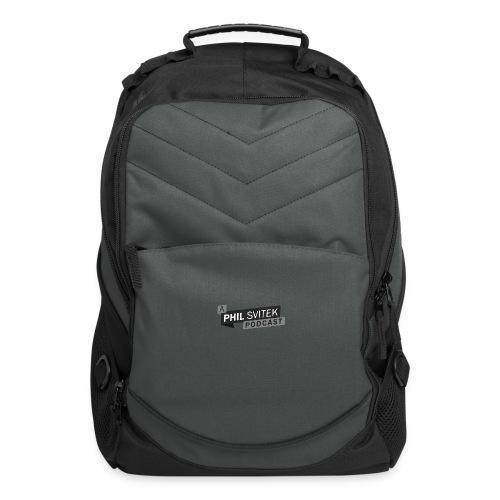 A Phil Svitek Podcast Logo ONLY Design - Computer Backpack
