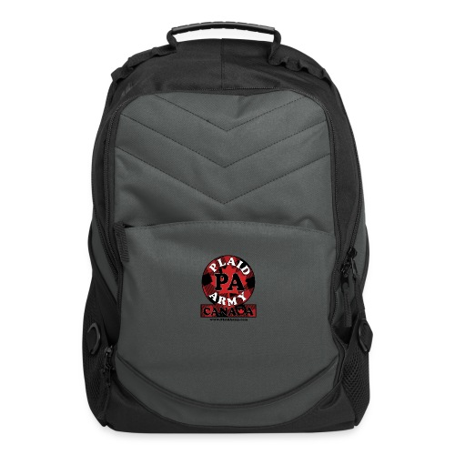Plaid Army Canada - Computer Backpack