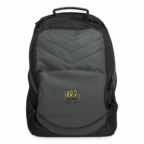 Coloured Trevor Loomes 187 Fight Gear Logo - Computer Backpack