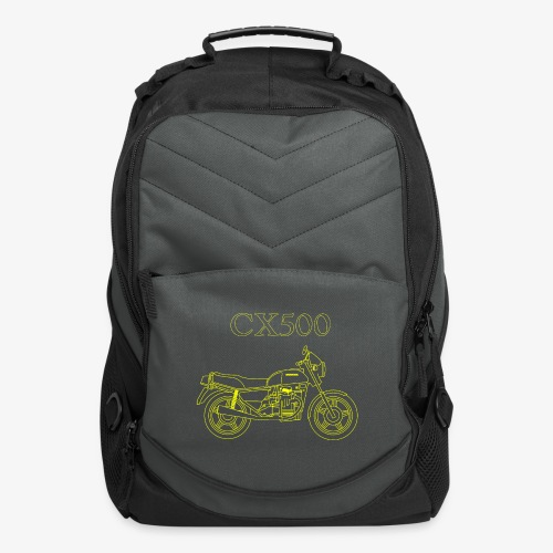 CX500 line drawing - Computer Backpack