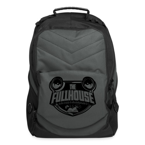 iPad 2/3 Case With Black/White FHE Logo - Computer Backpack