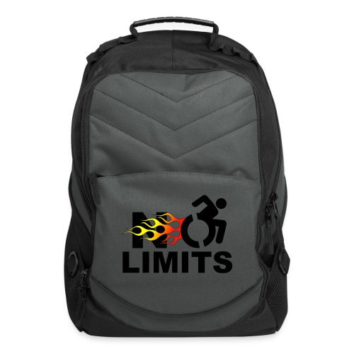 No limits for me with my wheelchair - Computer Backpack