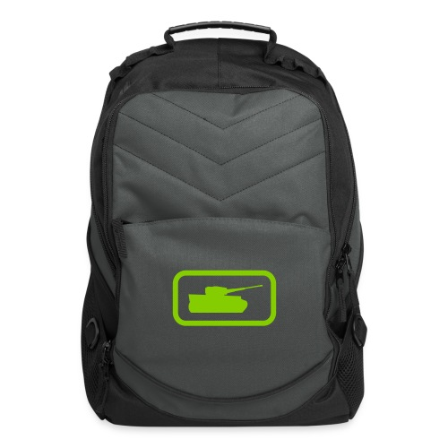 Tank Logo - Multi-Color - Axis & Allies - Computer Backpack