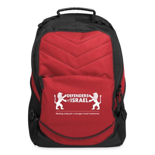 Defenders Of Israel White - Computer Backpack