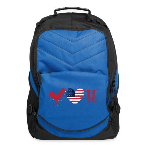 vote heart red - Computer Backpack