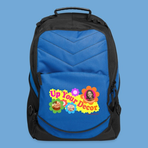 Up Your Decor logo. - Computer Backpack
