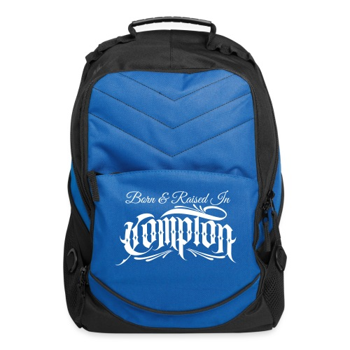 born and raised in Compton - Computer Backpack