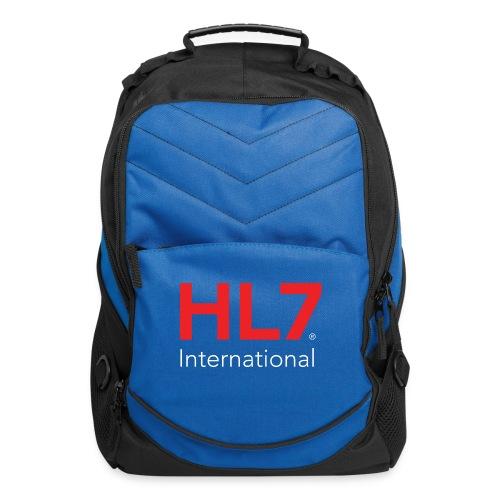 HL7 International Logo - Reverse - Computer Backpack