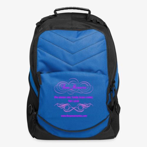 Those Memories logo - Computer Backpack