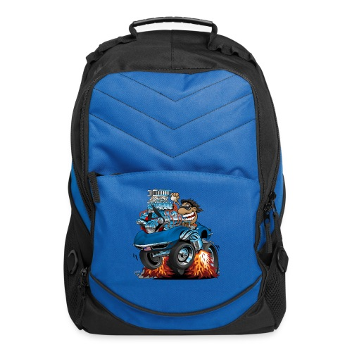 Classic '69 American Sports Car Cartoon - Computer Backpack