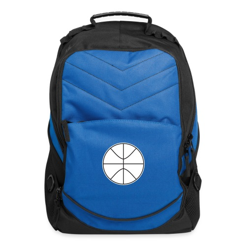 Basketball black and white - Computer Backpack