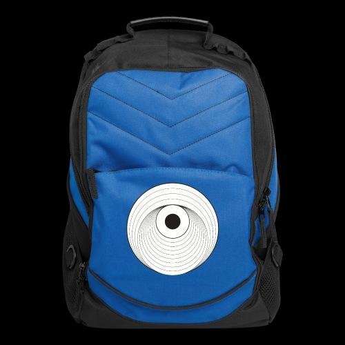 Black Dirt Vortex Logo Light - Computer Backpack