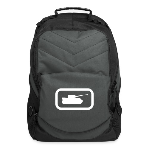 Tank Logo (White) - Axis & Allies - Computer Backpack