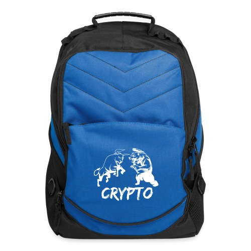 CryptoBattle White - Computer Backpack