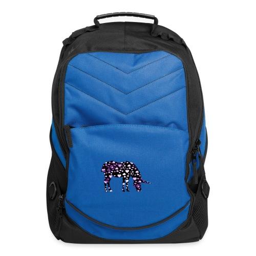 Unicorn Hearts purple - Computer Backpack