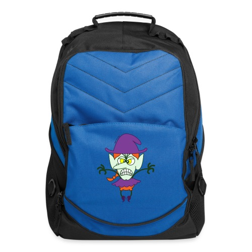 Scary Halloween Witch - Computer Backpack