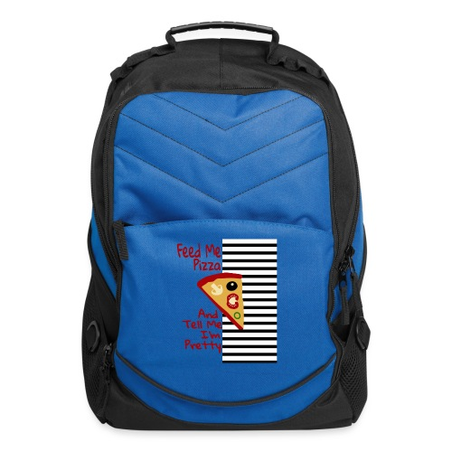 Feed Me Pizza And Tell Me I´m Pretty - Computer Backpack