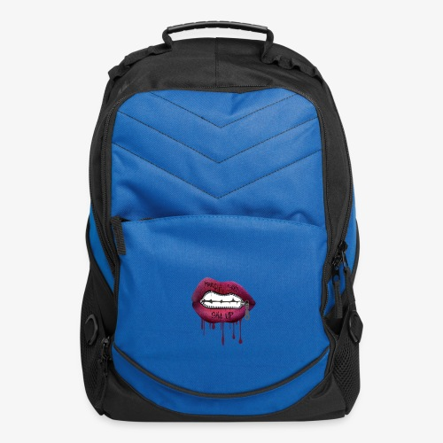 women mouth - Computer Backpack