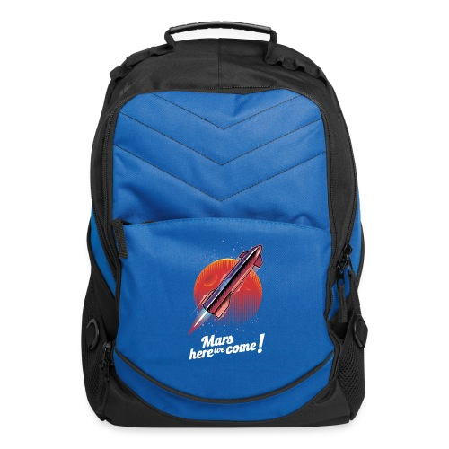 Mars Here We Come - Dark - Computer Backpack