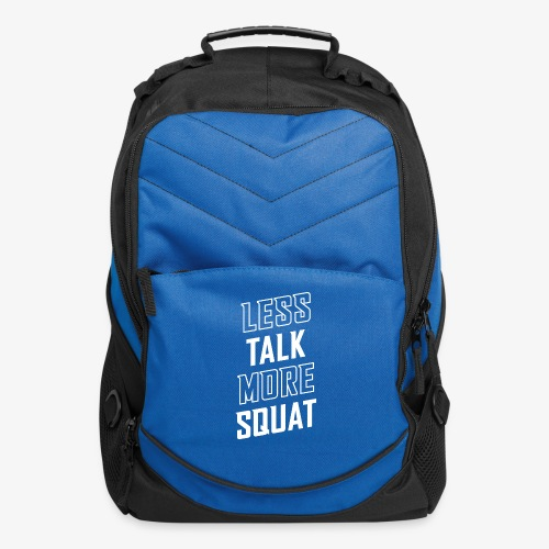 Less Talk More Squat - Computer Backpack
