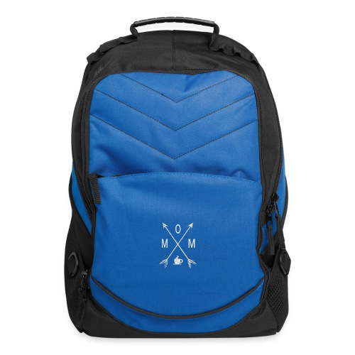 Mom Loves Coffee - Computer Backpack