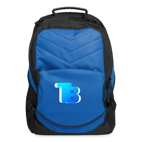 Trublu Overlapping letter Design - Computer Backpack
