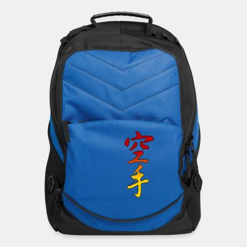Karate Kanji Red Yellow Gradient - Computer Backpack