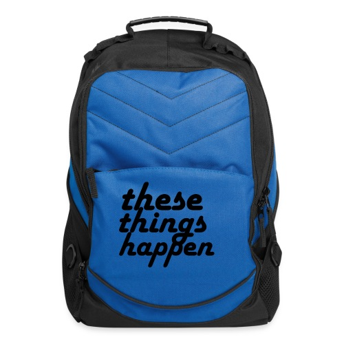 these things happen - Computer Backpack