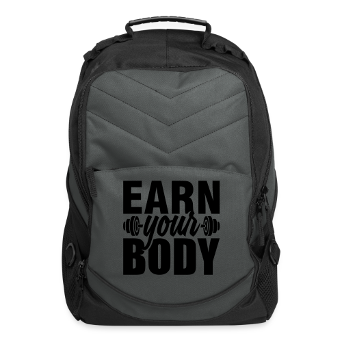 Earn your body - Computer Backpack