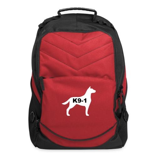 k9-1 Logo Large - Computer Backpack