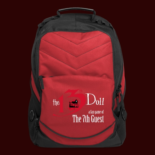 The 13th Doll Logo - Computer Backpack