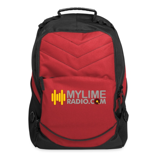 MyLimeRadio ALT LOGO (Tri Colour) - Computer Backpack