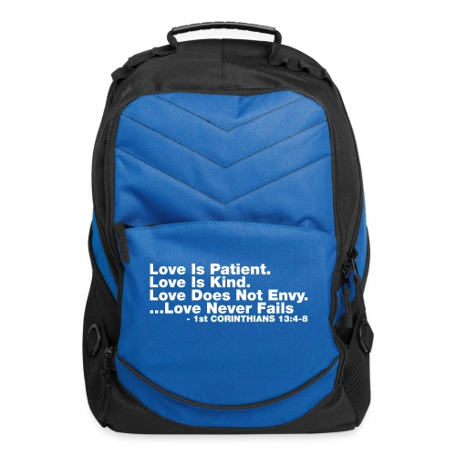 Love Bible Verse - Computer Backpack