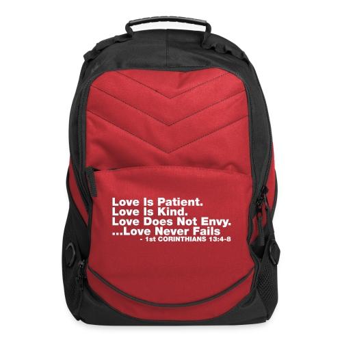 Love Bible Verse - Computer Backpack
