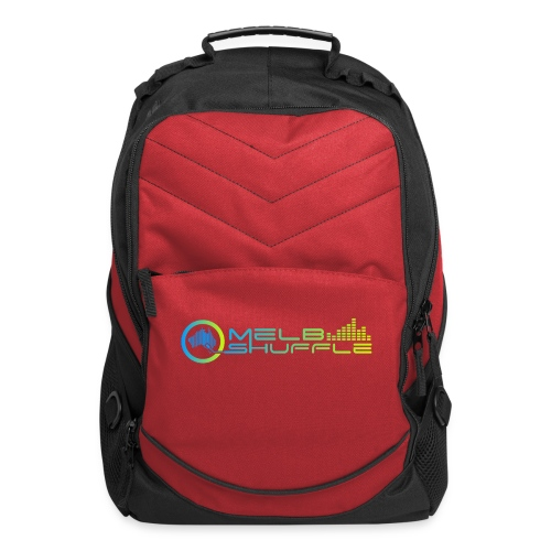 Melbshuffle Gradient Logo - Computer Backpack