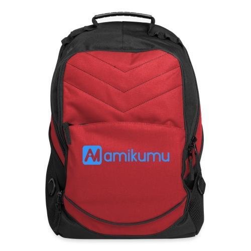 Amikumu Logo Blue - Computer Backpack