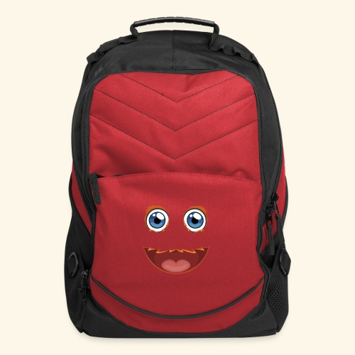 Fuzzy Puppet Face - Computer Backpack