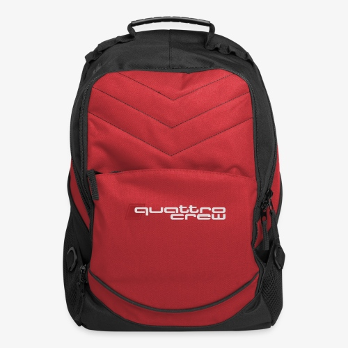 Quattro Crew - Light logo - Computer Backpack