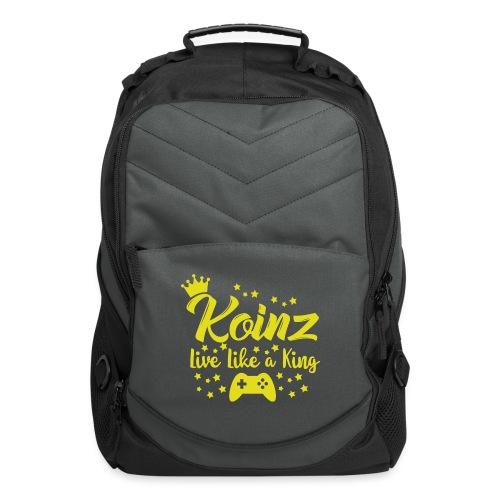 Live Like A King - Computer Backpack
