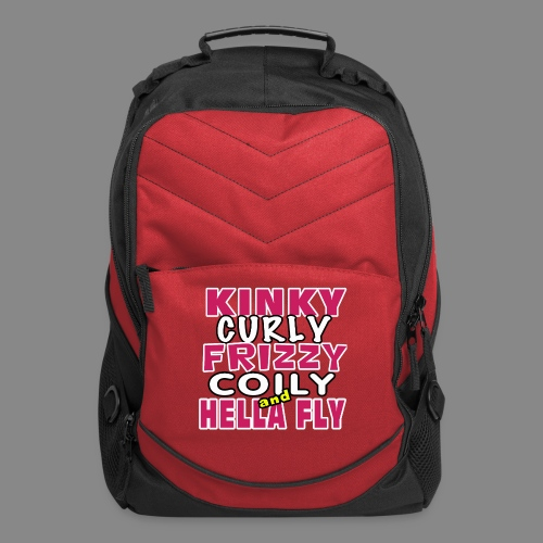Kinky Curly Frizzy - Computer Backpack