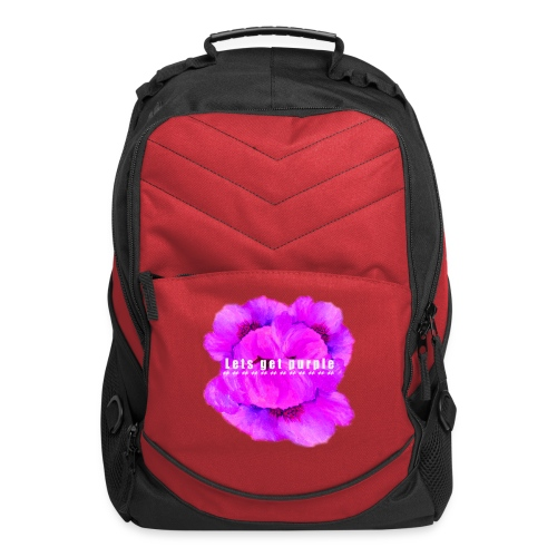 lets_get_purple_2 - Computer Backpack