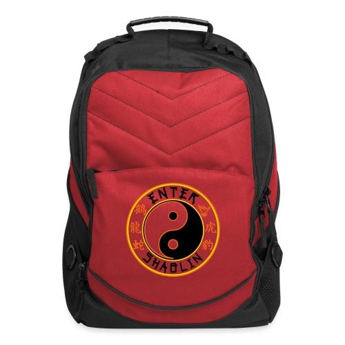 Enter Shaolin Main Logo | Black - Computer Backpack