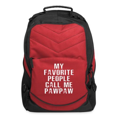 My Favorite People Called me PawPaw - Computer Backpack