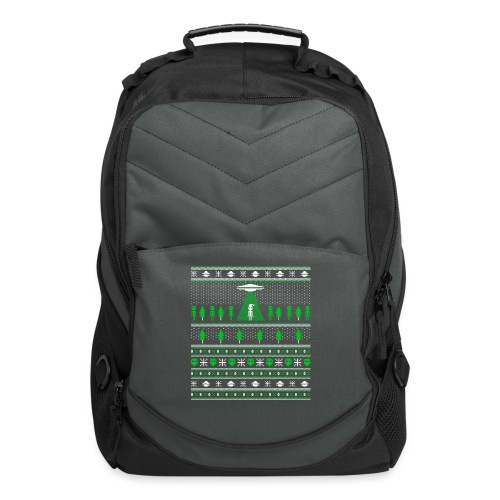 UFO ALIEN UGLY Christmas - Computer Backpack