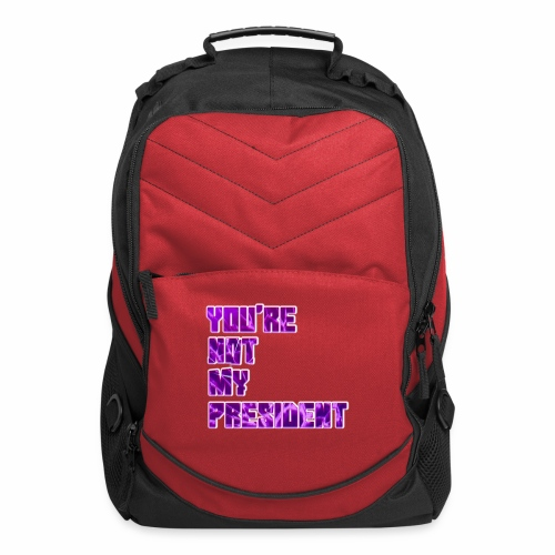 not my president with background - Computer Backpack